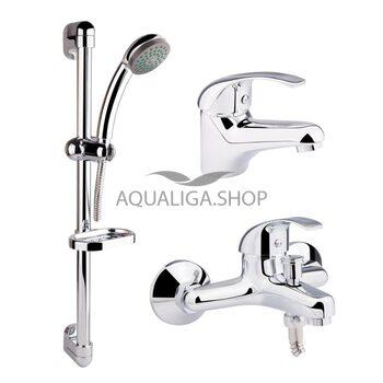 Набор смесителей для ванны Qtap Set CRM 40-111 QTSETCRM40111
