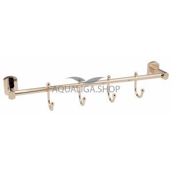 Крючок для полотенца Qtap Liberty ORO 1154-4