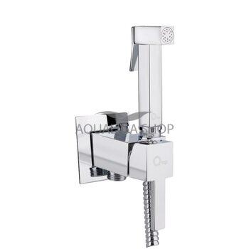 Набор для гигиенического душа со смесителем Q-tap Inspai-Varius CRM V00440201