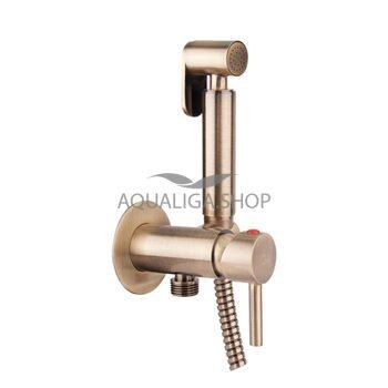 Набор для гигиенического душа со смесителем Q-tap Inspai-Varius VOT V00440001