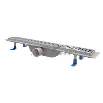 Трап линейный Q-tap Dry FA304-600 с нержавеющей решеткой 600х73