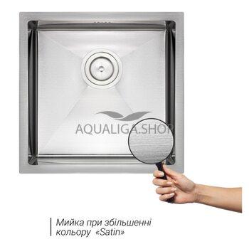 Кухонная мойка Qtap D4645 2.7/1.0 мм QTD464510