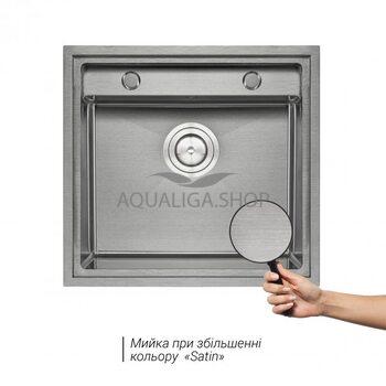 Кухонная мойка Qtap D5249 Satin 3.0/1.2 мм QTD52493012