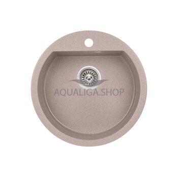 Кухонная мойка Qtap CS D510 Beige QTD510BEI551