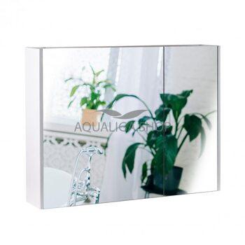 Зеркальный шкаф Qtap Scorpio 80 см QT1477ZP801W