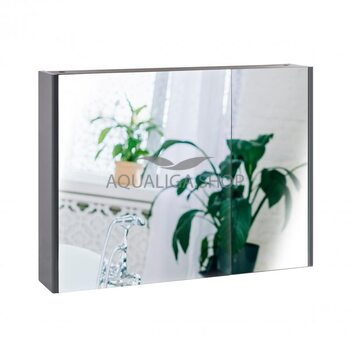 Зеркальный шкаф Qtap Scorpio 80 см QT1477ZP802G