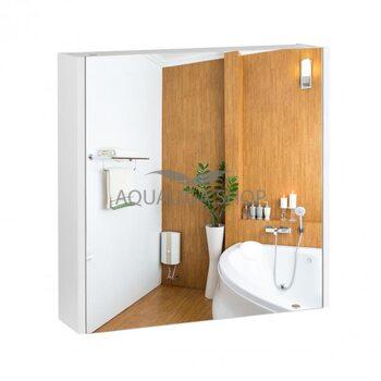 Зеркальный шкаф Qtap Scorpio 600х600х145 White QT1477ZP601W