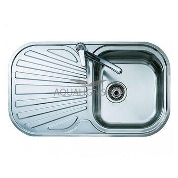 Кухонная мойка 830x480 Teka STYLO 1B 1D нержавеющая сталь 10107021