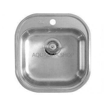 Кухонная мойка 460x480 Teka STYLO 1B нержавеющая сталь микротекстура 10107045