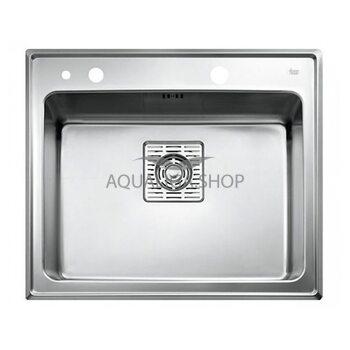 Кухонная мойка 590x510 Teka FRAME 1B Plus нержавеющая сталь 40180500