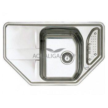 Кухонная мойка 800x500 Teka STENA 45 E нержавеющая сталь 11131022