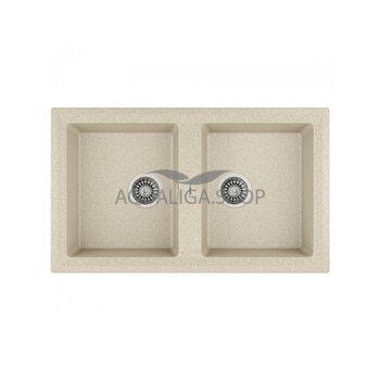 Кухонная мойка 860x510 Teka STONE 90 B-TG 2B песочный 115260002