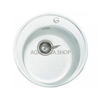 Кухонная мойка Ø 510 Teka CENTROVAL 45 TG  белый 40143206