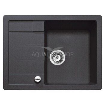 Кухонная мойка 650x500 Teka ASTRAL 45 B-TG черный металлик 40143518