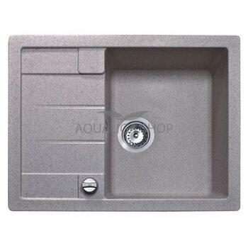 Кухонная мойка 650x500 Teka ASTRAL 45 B-TG серый металлик 40143582