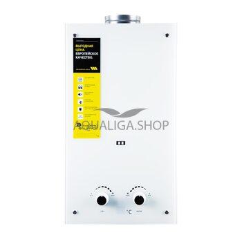 Газовая колонка Thermo Alliance дымоходная JSD20-10GE 10 л стекло (белое)