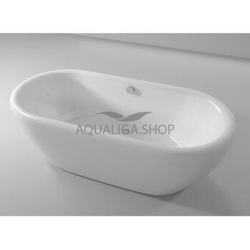 Ванна отдельностоящая Riho Dua FS 180x86 см white BD0100500000000