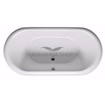 Ванна отдельностоящая Riho Dua FS 180x86 см white and colour panel BD01XXX00000000