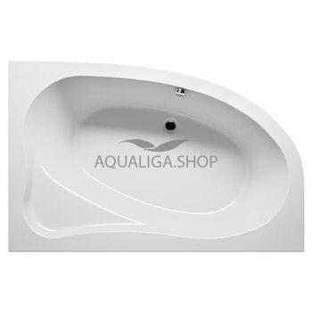 Ванна акриловая Riho Lyra 153х100 см левая BA6800500000000